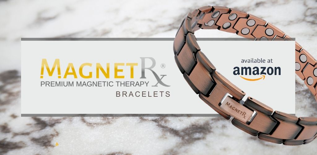 MagnetRX Magnetic Bracelets Available on Amazon