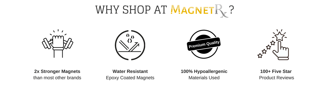 MagnetRX Benefits - Magnetic Therapy Bracelets