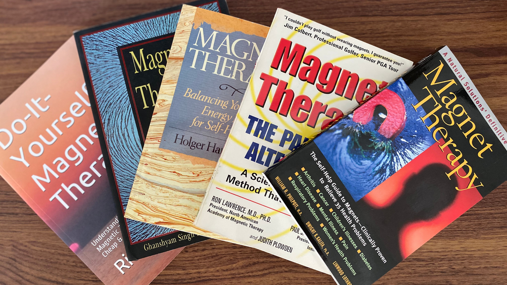 Best books for magnetic therapy and magnet healing