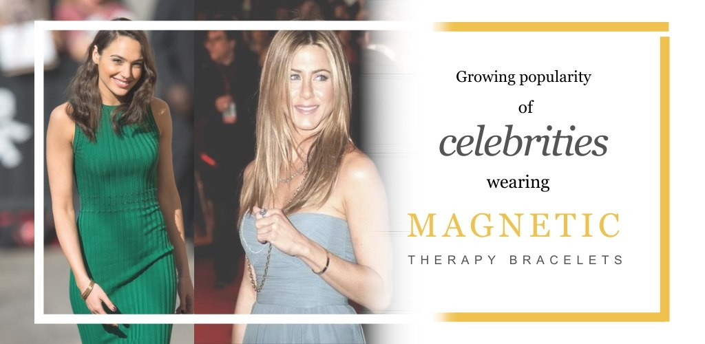 Growing Popularity of Celebrities Wearing Magnetic Therapy Bracelets