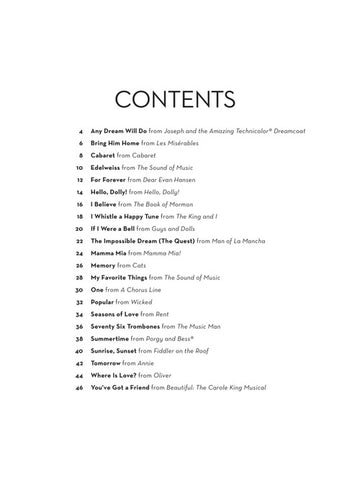 Easy Instrumental Duets: Broadway Songs For Two Trumpets – Becketts