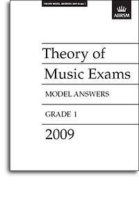 ABRSM Theory Of Music Exams 2009: Model Answers - Grade 1