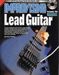 Progressive Improvising Lead Guitar Bk/Cd