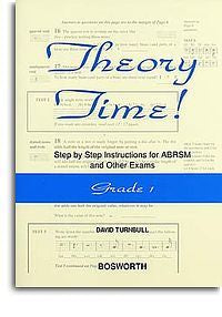 David Turnbull: Theory Time - Grade 1