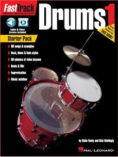 FastTrack Drum Method: Starter Pack (Book/Online Audio & Video)