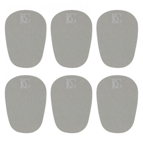 BG (11L) 0.4MM Large Mouthpiece Patches - Pack of 6 - Clear