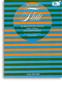 Solos For Flute: 36 Repertoire Pieces With Piano Accompaniment