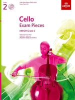 ABRSM Cello Exam Pieces 2020-2023 - Grade 2 - Score, Part & CD