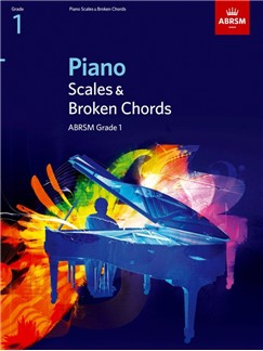 ABRSM Piano Scales and Arpeggios: From 2009 (Grade 1)