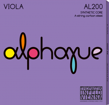 Thomastik Alphayue (AL200) Viola string set