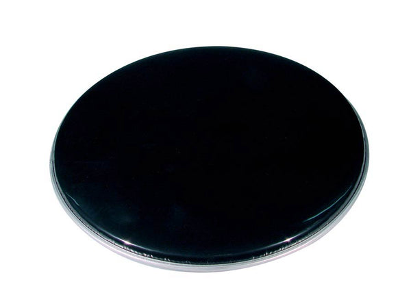 "Single Ply 22"" Black Bass Drum Head / Skin"