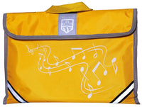 Montford (MFMC1Y) Music Carrier - Yellow