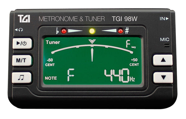 TGI (TGI98W) Chromatic tuner / metronome - Key change option