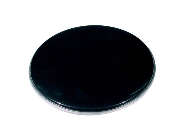 "Single Ply 18"" Black Tom /  Bass Drum Head / Skin"
