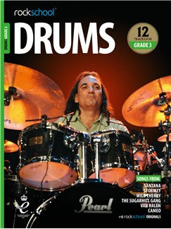 Rockschool: Drums Grade 3 2018+ (Book/Audio)
