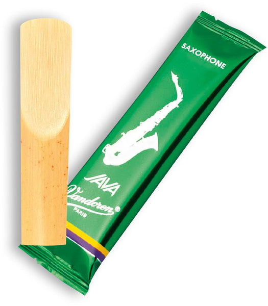 Vandoren Java (GREEN) Strength 2.5 Eb Alto Saxophone Reed - Single Reed