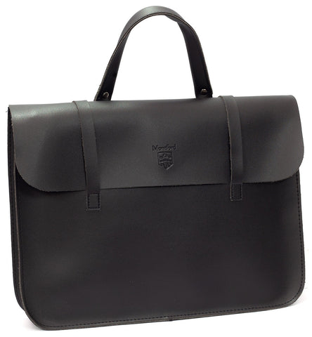 Montford (MFC5BK) Black Leatherette Music Case