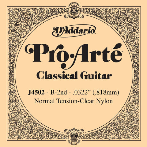 D'Addario Pro Arte normal tension B / 2nd