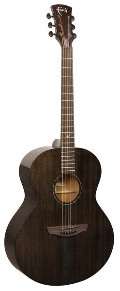 Faith Nexus Series (FPNECK) Copper Black Neptune All Solid Electric Acoustic - Including Gig Bag