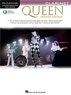 Queen - Clarinet (Book/Audio)