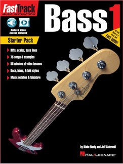 FastTrack Bass Method: Starter Pack (Book/Online Audio & Video)