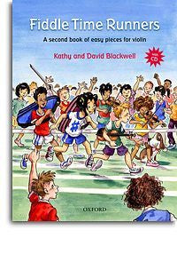 Kathy Blackwell/David Blackwell: Fiddle Time Runners - Book/CD (Revised Edition)