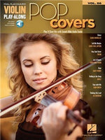 Violin Play-Along Volume 66: Pop Covers (Book/Online Audio)
