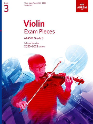 ABRSM Violin Exam Pieces 2020-2023 - Grade 3 - Score & Part