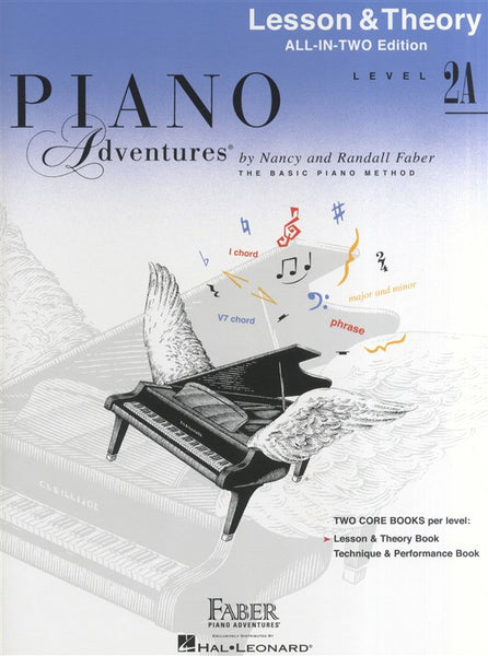 Piano Adventures All In Two Level 2A