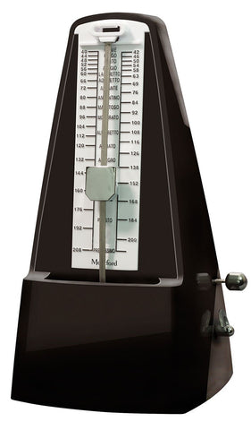 Montford (MFMT40) Pyramid Metronome With Bell - Polish Black