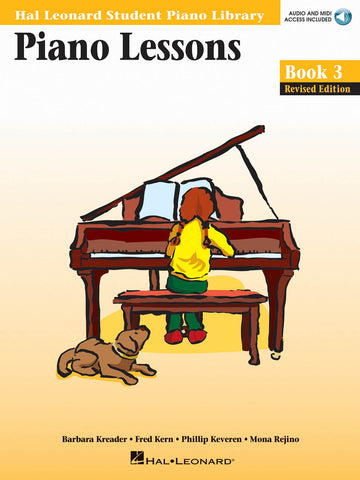 Hal Leonard Student Piano Library - Piano Lesson Book 3 - Online Audio