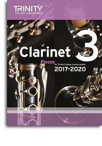 Trinity College London: Clarinet Exam Pieces Grade 3, 2017–2020 (Score And Part)