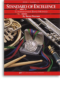 Standard Of Excellence: Comprehensive Band Method Book 1 (Trombone Treble Clef) *D
