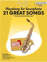 Guest Spot: Playalong For Alto Saxophone - Gold Edition