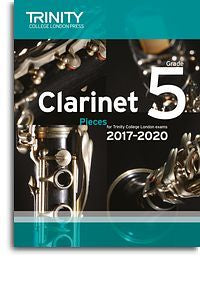 Trinity College London: Clarinet Exam Pieces Grade 5, 2017–2020 (Score And Part)