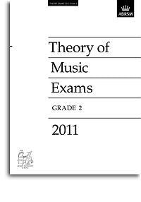 ABRSM Theory Of Music Exams 2011: Test Paper - Grade 2