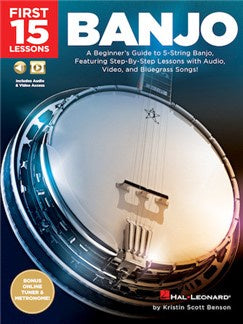 First 15 Lessons – Banjo HL00244649