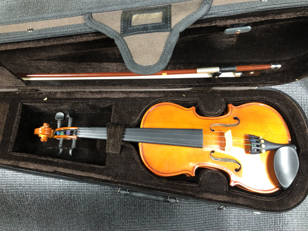 Ex Rental Stentor student standard 1/4 violin outfit