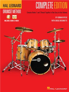 Hal Leonard Drumset Method - Complete Edition (Books 1 & 2)
