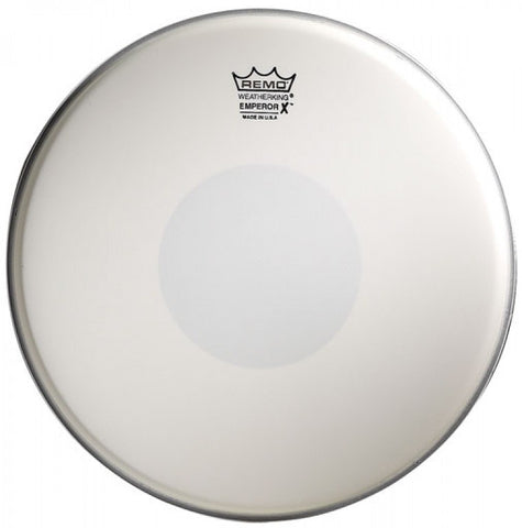 "(N) Remo 14"" coated emperor X drum head"