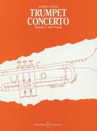 Haydn trumpet concerto in Bb - published B&H