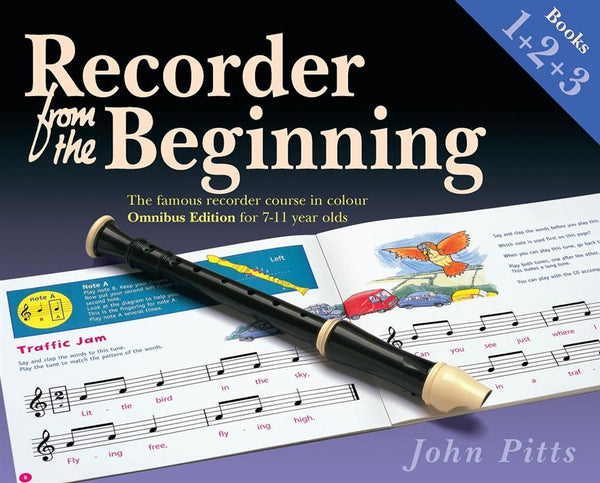 Recorder From The Beginning - Books 1, 2 & 3