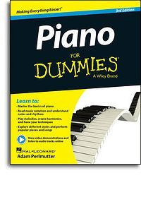Piano For Dummies - 3rd Edition (Book/Online Audio)