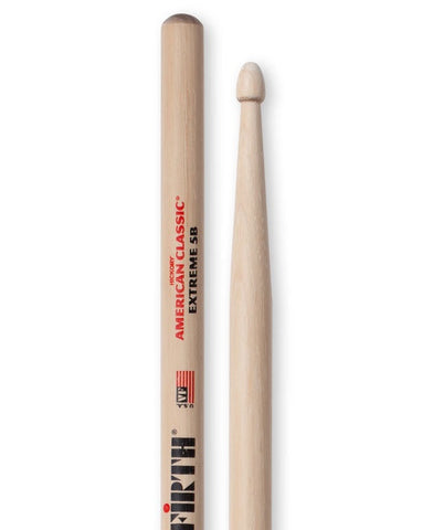 (N) Vic Firth X5B extra long wooden tip drumsticks