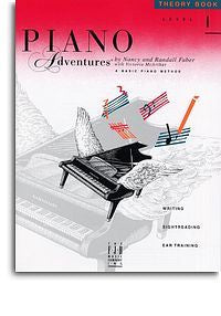 Piano Adventures: Theory Book - Level 1