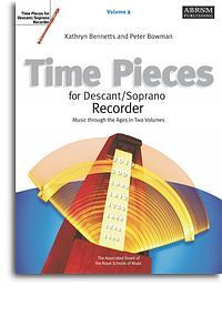 Time Pieces For Descant/Soprano Recorder - Volume 2