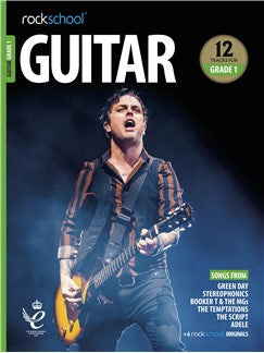 Rockschool: Guitar Grade 1 2018+ (Book/Audio)
