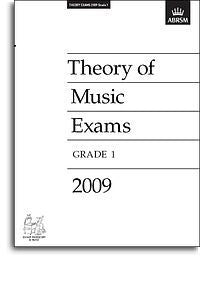 ABRSM Theory Of Music Exams 2009: Test Paper - Grade 1