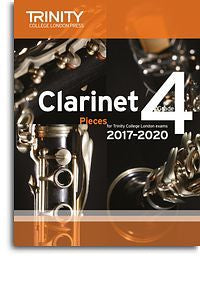 Trinity College London: Clarinet Exam Pieces Grade 4, 2017–2020 (Score And Part)