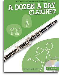 A Dozen A Day - Clarinet